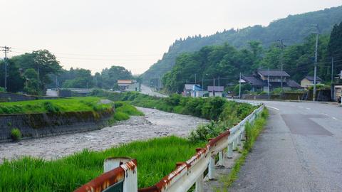 浅野川沿いの風景
