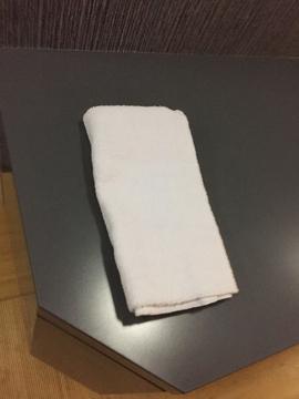 タオルがもらえる!