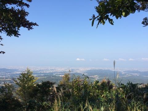 金沢市内を一望