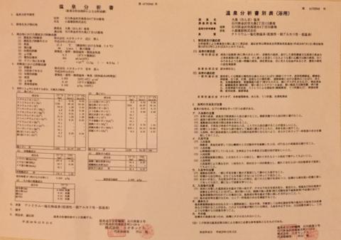 成分分析表(クリックで拡大)