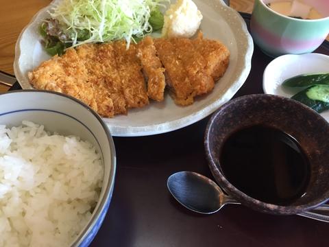定番豚カツ定食