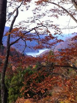 大嵐山から手取湖