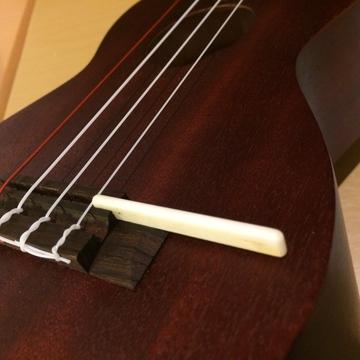 弦を緩めてサドルを取り出す