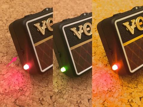 VOX amplug2パワーランプ