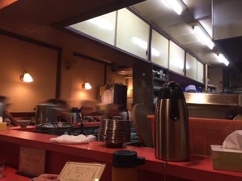 中華飯店 王蘭の店内