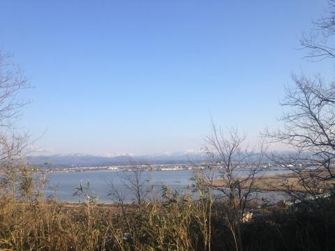 河北潟の展望(イメージ)