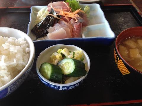 刺身定食980円