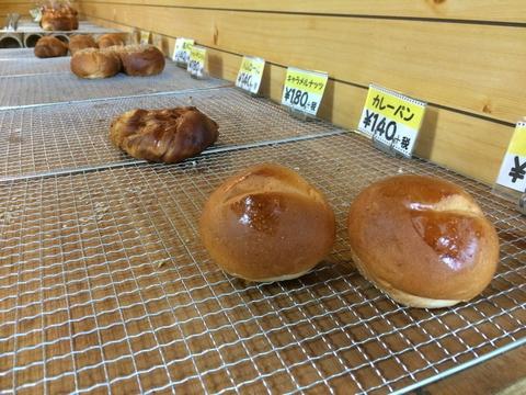 朝たくさん作ったパンは午前中にほとんど売れるのだそう
