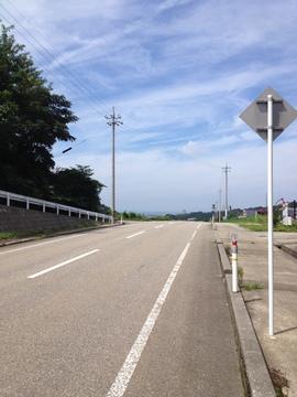 県道27号線最初のピーク