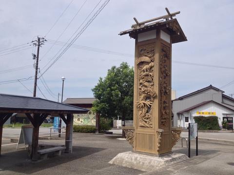 井波は木彫りの里