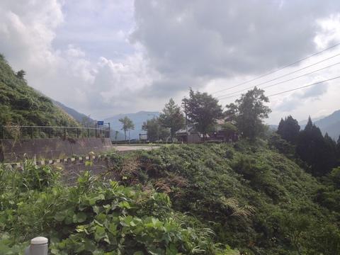 標高533mの絶景道の駅 利賀