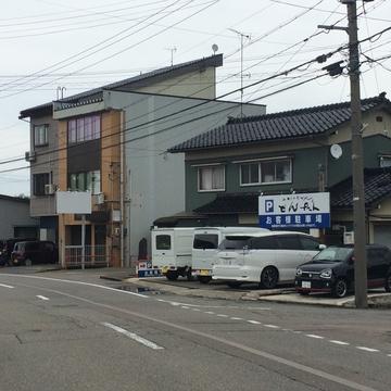 第二駐車場は道を挟んで向かい側