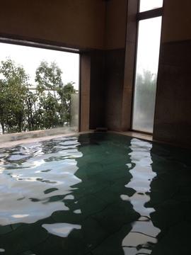 内風呂も景色よし