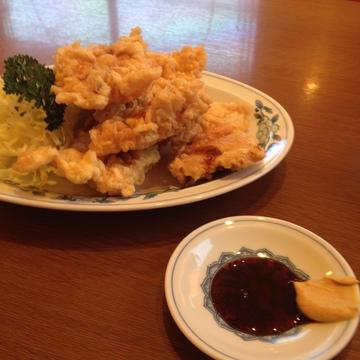 豚肉天ぷらはカラシしょうゆで