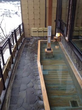 眺めのいい露天風呂