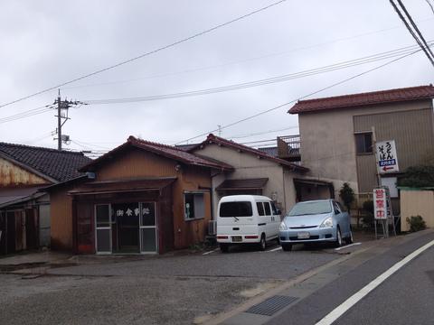 加賀笠間駅近くの住宅街にある