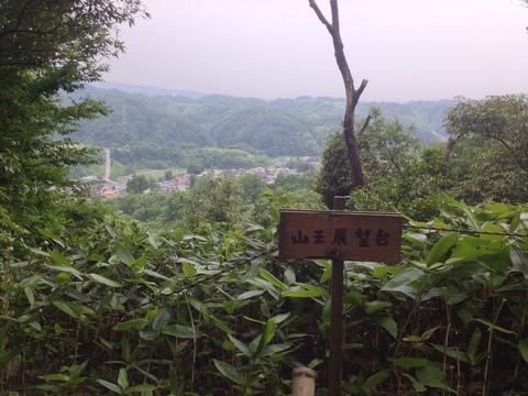 山王展望台からの眺め