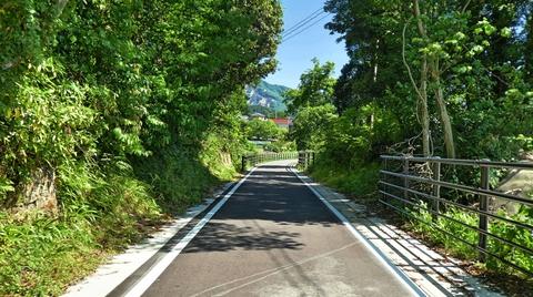 現在は整備されここから手取川河川敷道路で手取川河口まで繋がり長距離自転車道に