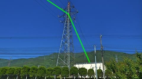 手取線48番の分岐先は鶴来浄水所。支線が引き留められている