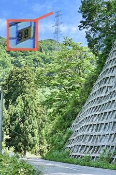 左の巨大鉄塔は加賀幹線98番。ここから番数を上げる。ピークは120番と覚えておくといい