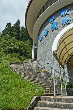 ヨーロッパ風の2重螺旋階段