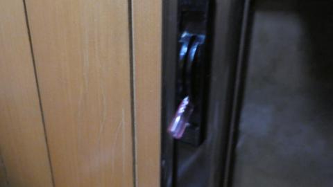 鍵はこんな感じ。珍しい