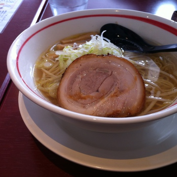 鶏塩ラーメン650円