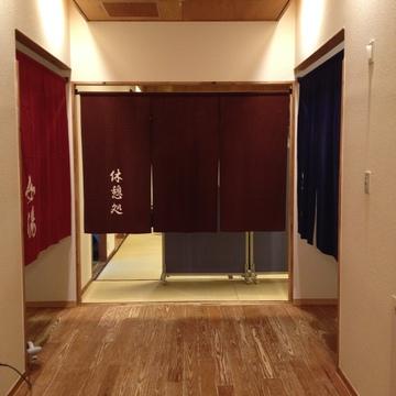 浴室の入り口