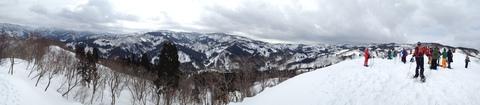 西山頂上付近