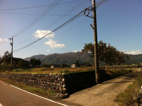 富山県道10号線より医王山