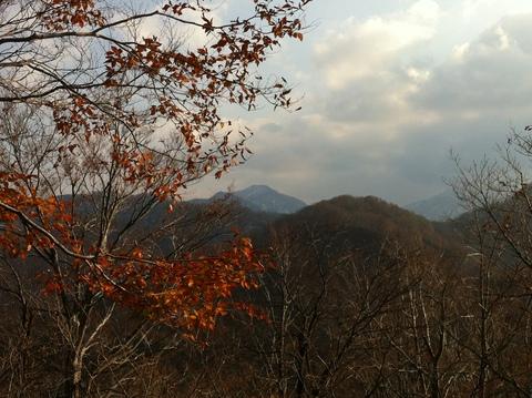 順尾山より加賀富士大門山