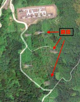 Google Map航空写真