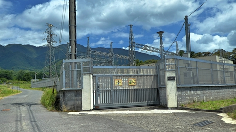 関西電力 比良変電所
