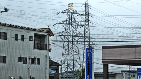 北陸幹線(松)1番鉄塔