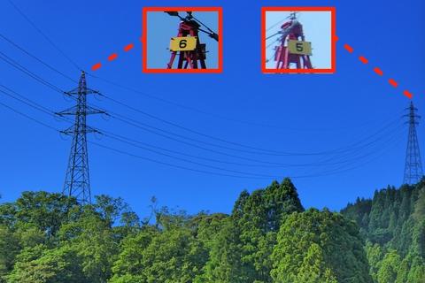 敦賀火力から来ている系統