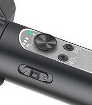 2つのボタンとLEDでモード切り替えと確認