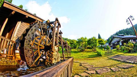 かずら橋のある志津原リゾート