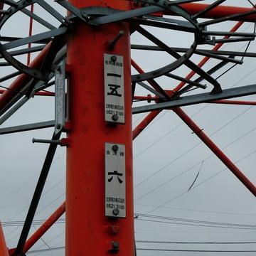 松岡連絡線15番(昭和62年3月) 金津線6番(昭和62年3月)
