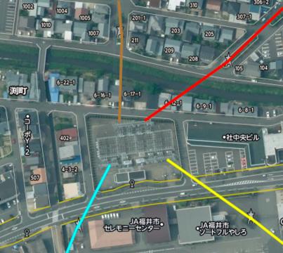 南福井変電所接続図