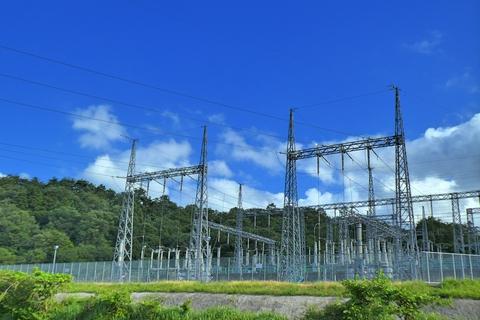 新敦賀発電所北側スイッチヤードへの引き込み