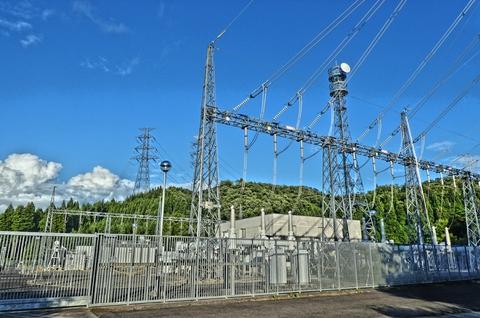 北陸電力 南条変電所(クリックで拡大)