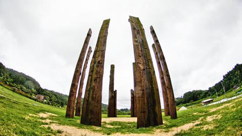 環状木柱列 何の目的に作られたのか