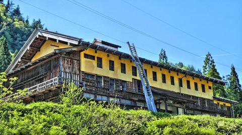 杉原家の巨大はしご