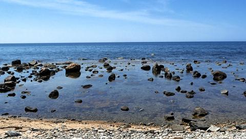 海沿いはこんな景色も