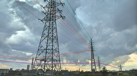 浅野川トライアングルのトリッキーな接続。御所浅野線(赤)浅野線(紫)津幡線(水色)