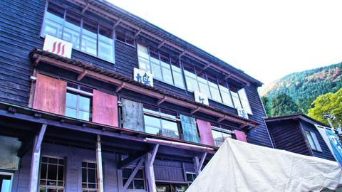 木造3階建ての外観