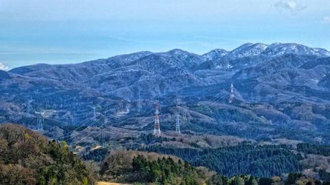 能登幹線と能越幹線の並走が綺麗に見える