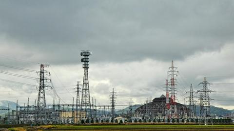 北陸電力 新武生変電所 東側154kVブロックより