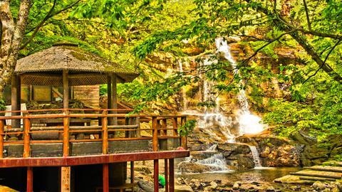 東屋と大滝