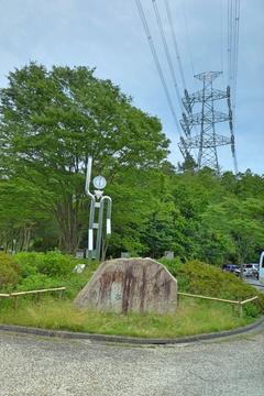 荻谷総合公園は北大阪変電所から谷をはさんだ反対側